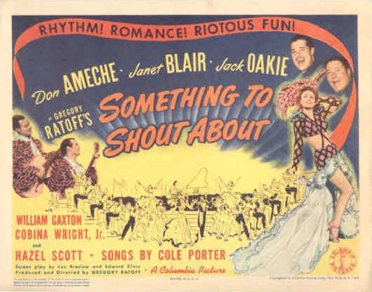 Something to Shout About [lobby card]